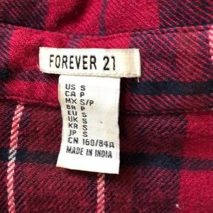 Forever 21 Tops - F21 Short Sleeve Button Down